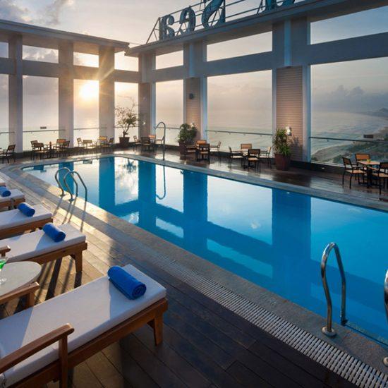 thi công hồ bơi khách sạn Đà Nẵng